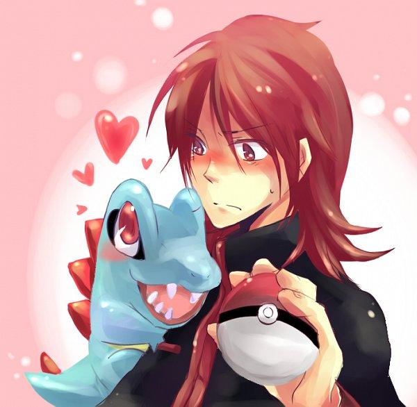 Tags: Anime, Pixiv Id 533672, Pokémon Gold & Silver, Pokémon, Totodile, Silver (Pokémon)