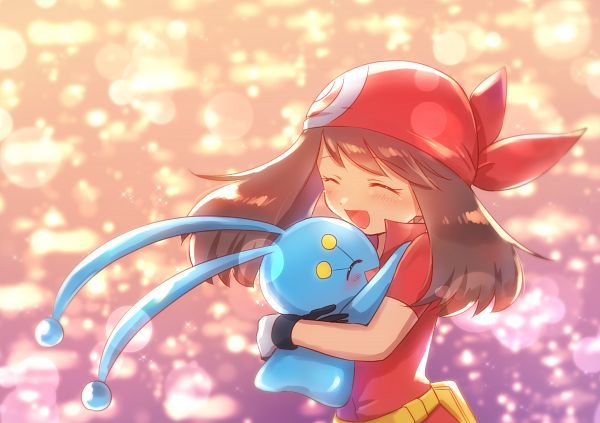 Tags: Anime, Pixiv Id 657258, Pokémon (Anime), Pokémon Ranger and the Temple of the Sea, Pokémon Ruby & Sapphire, Pokémon Diamond & Pearl, Pokémon, Manaphy, Haruka (Pokémon), Legendary Pokémon