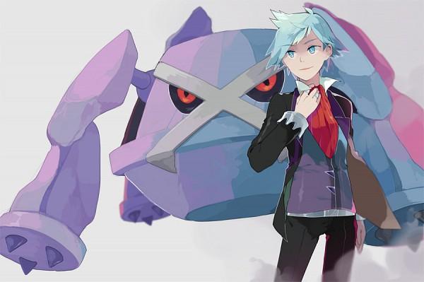 Tags: Anime, Juupion, Pokémon Ruby & Sapphire, Pokémon, Metagross, Tsuwabuki Daigo, deviantART, PNG Conversion, Fanart