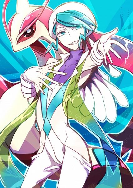 Tags: Anime, Pixiv Id 1220815, Pokémon Ruby & Sapphire, Pokémon, Milotic, Mikuri (Pokémon), Pixiv, Mobile Wallpaper, Fanart