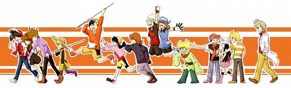 Tags: Anime, Pokémon SPECIAL, Pokémon Red & Green, Pokémon, Blue (Pokémon SPECIAL), Crystal (Pokémon SPECIAL), Red (Pokémon SPECIAL), Silver (Pokémon SPECIAL), Green Oak (Pokémon SPECIAL), Emerald (Pokémon SPECIAL), Platinum Berlitz, Gold (Pokémon SPECIAL), Pearl (Pokémon SPECIAL), Pokémon Adventures