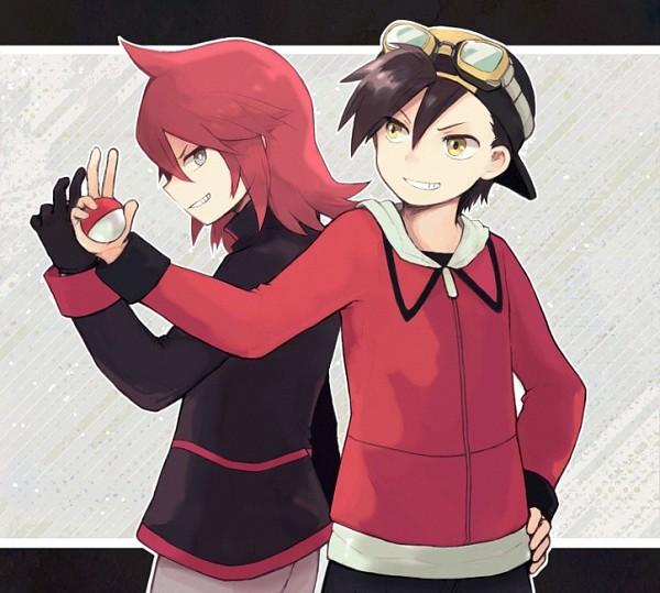 Tags: Anime, Coroof, Pokémon SPECIAL, Pokémon, Gold (Pokémon SPECIAL), Silver (Pokémon SPECIAL), Fanart, Fanart From Pixiv, Pixiv, Pokémon Adventures