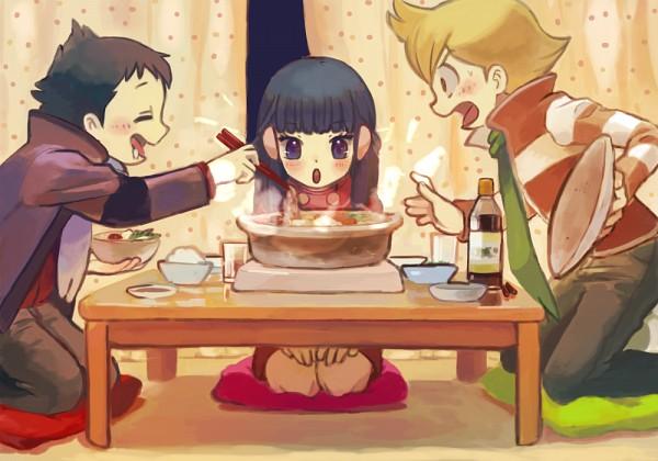 Tags: Anime, Pixiv Id 3649526, Pokémon SPECIAL, Pokémon, Hikari (Pokémon), Jun (Pokémon), Kouki (Pokémon), Fanart, Pixiv, Fanart From Pixiv, Pokémon Adventures