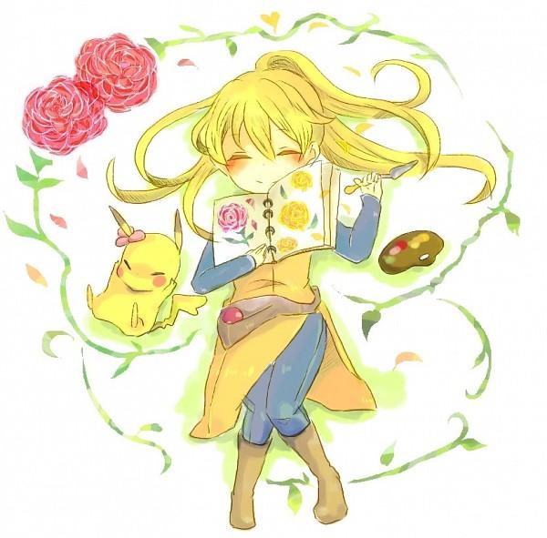 Tags: Anime, Pixiv Id 633406, Pokémon SPECIAL, Pokémon, Chuchu (Pokémon), Yellow (Pokémon Special), Pikachu, Fanart, Pokémon Adventures