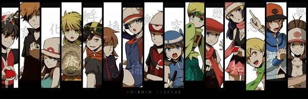 Tags: Anime, Pixiv Id 587365, Pokémon SPECIAL, Pokémon, White (Pokémon SPECIAL), Ruby (Pokémon SPECIAL), Emerald (Pokémon SPECIAL), Black (Pokémon SPECIAL), Crystal (Pokémon SPECIAL), Green Oak (Pokémon SPECIAL), Yellow (Pokémon Special), Blue (Pokémon SPECIAL), Silver (Pokémon SPECIAL), Pokémon Adventures