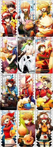 Tags: Anime, NINE (Sapphire), Pokémon SPECIAL, Pokémon, Ditto, Pikachu, Leaf (Pokémon), Blitzle, Oshawott, Yellow (Pokémon Special), Milotic, Red (Pokémon SPECIAL), Red (Pokémon), Pokémon Adventures