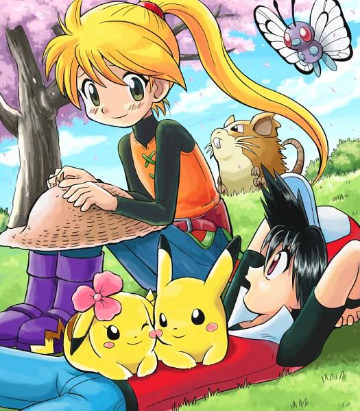 Tags: Anime, Soara, Pokémon SPECIAL, Pokémon, Pikachu, Rattchan, Piisuke (Pokémon), Raticate, Red (Pokémon SPECIAL), Chuchu (Pokémon), Butterfree, Yellow (Pokémon Special), Pika (Pokémon), Pokémon Adventures