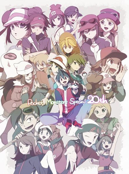 Tags: Anime, Pixiv Id 886726, Pokémon SPECIAL, Pokémon, Emerald (Pokémon SPECIAL), Whi-two, Diamond (Pokémon SPECIAL), Silver (Pokémon SPECIAL), Blue (Pokémon SPECIAL), Yellow (Pokémon Special), Odamaki Sapphire, Lack-two, Gold (Pokémon SPECIAL), Pokémon Adventures