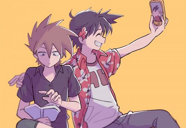 Tags: Anime, Euig, Pokémon SPECIAL, Pokémon, Green Oak (Pokémon SPECIAL), Red (Pokémon SPECIAL), Twitter, Pokémon Adventures