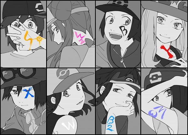 Tags: Anime, Oikawa, Pokémon SPECIAL, Pokémon, White (Pokémon SPECIAL), X (Pokémon SPECIAL), Black (Pokémon SPECIAL), Sun (Pokémon SPECIAL), Moon (Pokémon SPECIAL), Y (Pokémon SPECIAL), Lack-two, Whi-two, Fanart, Pokémon Adventures