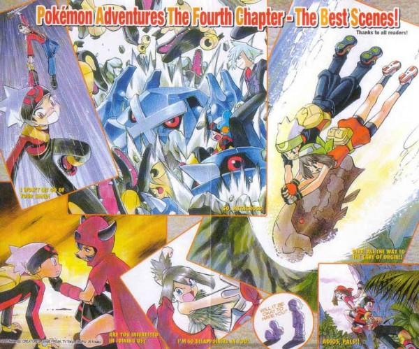 Tags: Anime, Pokémon SPECIAL, Pokémon, Tsuwabuki Daigo, Metang, Plusle, Relicanth, Yuuki (Pokémon), Mawile, Mudkip, Kagari (Pokémon), Metagross, Haruka (Pokémon), Pokémon Adventures