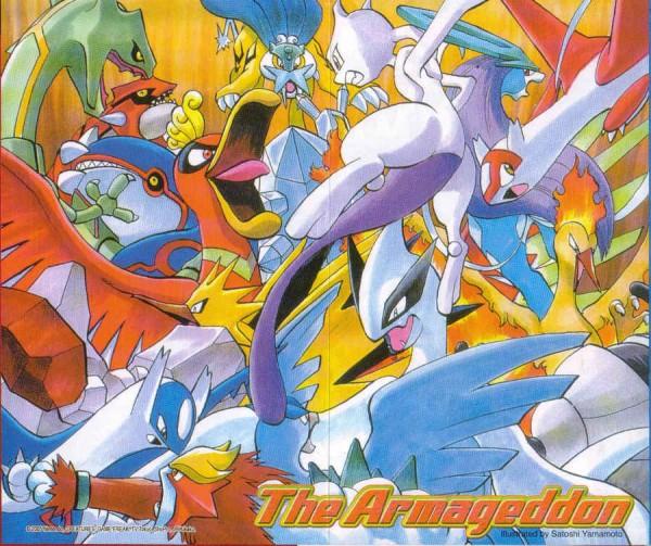 Tags: Anime, Yamamoto Satoshi, Pokémon SPECIAL, Pokémon, Moltres, Latios, Ho-oh, Regice, Groudon, Suicune, Lugia, Regirock, Raikou, Pokémon Adventures