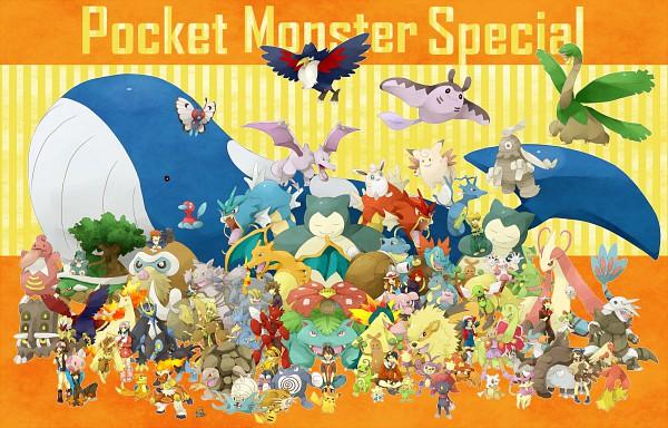 Tags: Anime, Pixiv Id 2493694, Pokémon SPECIAL, Pokémon, Green Ookido (Pokémon SPECIAL), Blaziken, Mantine, Platinum Berlitz, Gyarados, Milotic, Gold (Pokémon SPECIAL), Pearl (Pokémon SPECIAL), Blastoise, Pokémon Adventures