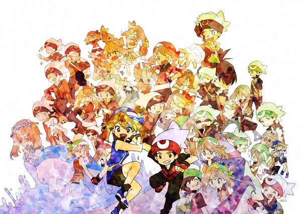 Tags: Anime, Bukiko, Pokémon SPECIAL, Pokémon, Ruby (Pokémon SPECIAL), Feebas, Milotic, Castform, Torchic, Wailord, Yuuki (Pokémon), Odamaki Sapphire, Haruka (Pokémon), Pokémon Adventures