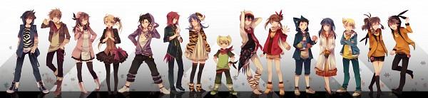 Tags: Anime, Jikei, Pokémon SPECIAL, Pokémon, Platinum Berlitz, Jigglypuff, Doduo, Gold (Pokémon SPECIAL), White (Pokémon SPECIAL), Ponyta, Odamaki Sapphire, Eevee, Chatot, Pokémon Adventures