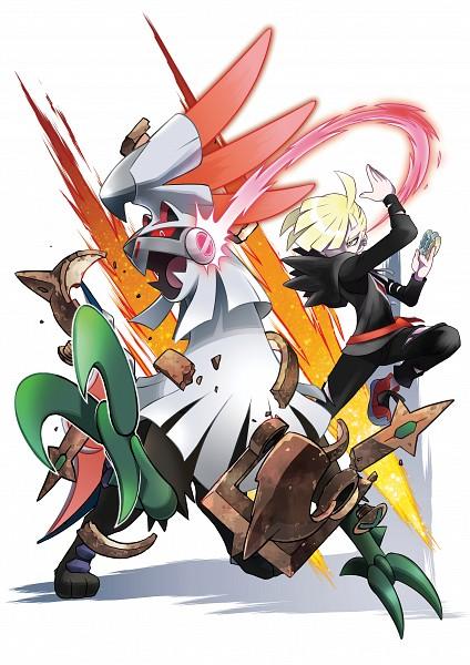 Tags: Anime, Oomura Yusuke, GAME FREAK, Nintendo, Pokémon Sun & Moon, Pokémon, Gladion, Silvally, Mobile Wallpaper, PNG Conversion, Official Art
