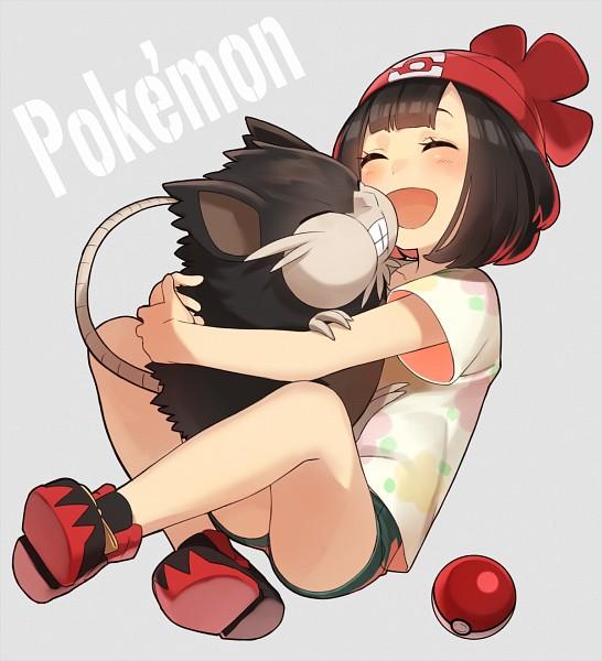 Tags: Anime, Pixiv Id 1095951, Pokémon Sun & Moon, Pokémon, Raticate, Mizuki (Pokémon), Fanart From Pixiv, Alola Form, Pixiv, Fanart