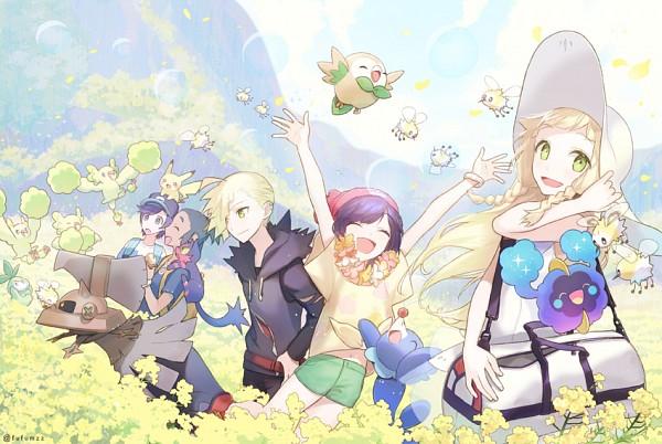 Tags: Anime, Melso, Pokémon Sun & Moon, Pokémon, Rowlet, Petilil, You (Pokémon), Oricorio, Mizuki (Pokémon), Cosmog, Cutiefly, Pikachu, Popplio