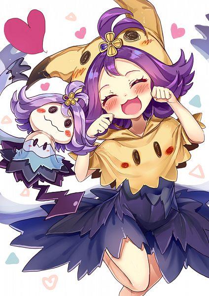 Tags: Anime, Akabane (Zebrasmise), Pokémon Sun & Moon, Pokémon, Mimikyu, Acerola, Mimikkyu (Cosplay), Acerola (Cosplay), Pokémon (Cosplay), Mobile Wallpaper