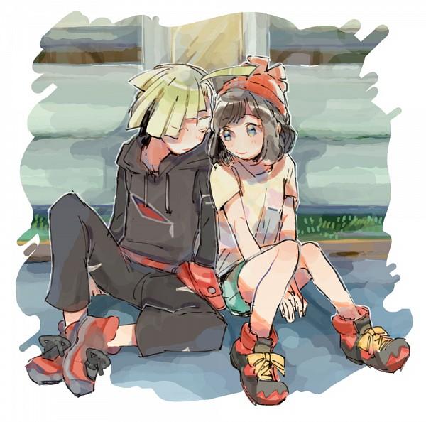 Tags: Anime, Pixiv Id 5142841, Pokémon Sun & Moon, Pokémon, Gladion, Mizuki (Pokémon), Pixiv, Fanart, Fanart From Pixiv