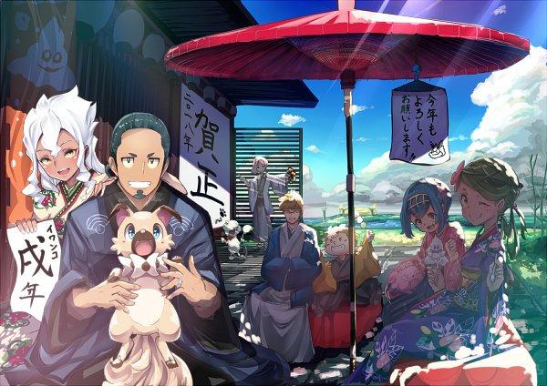 Tags: Anime, Xe-cox, Pokémon Sun & Moon, Pokémon, Kukui, Smeargle, Ilma, Snubbull, Maamane, Burnet (Pokémon), Rockruff, Vanillish, Mullein (Pokémon)