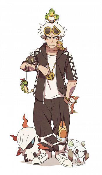 Tags: Anime, Pixiv Id 1305171, Pokémon Sun & Moon, Pokémon, Caterpie, Nincada, Scatterbug, Weedle, Guzuma, Larvesta, Wurmple, Grubbin, Sewaddle