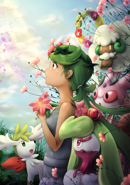 Tags: Anime, Pixiv Id 4307505, Pokémon Sun & Moon, Pokémon, Mao (Pokémon)