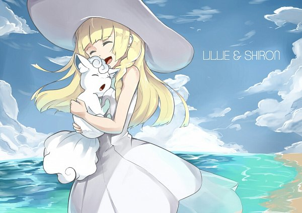 Tags: Anime, Pixiv Id 3885503, Pokémon Sun & Moon, Pokémon, Lillie (Pokémon), Vulpix, Alola Form, Fanart, Fanart From Pixiv, Pixiv