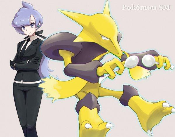 Tags: Anime, Pixiv Id 4307061, Pokémon Sun & Moon, Pokémon, Alakazam, Lila (Pokémon), Fanart, Fanart From Pixiv, Pixiv