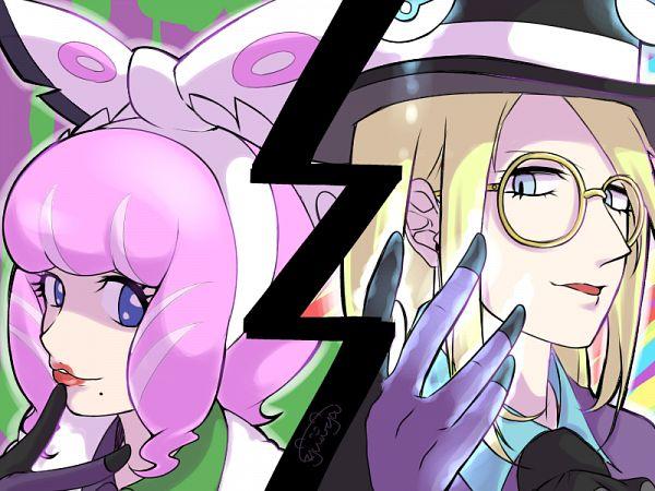 Tags: Anime, Pixiv Id 3402376, Pokémon Sword & Shield, Savory (Pokémon), Clara (Pokémon), Pokémon Sword & Shield: Expansion, Wallpaper