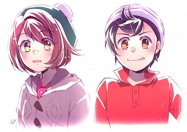 Tags: Anime, Kipam, Pokémon Sword & Shield, Pokémon, Male Protagonist (Pokémon Sword & Shield), Female Protagonist (Pokémon Sword & Shield), Fanart From Tumblr, Tumblr, Fanart
