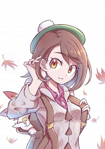 Tags: Anime, Pixiv Id 4969459, Pokémon Sword & Shield, Pokémon, Scorbunny, Female Protagonist (Pokémon Sword & Shield), Fanart From Pixiv, Pixiv, Fanart