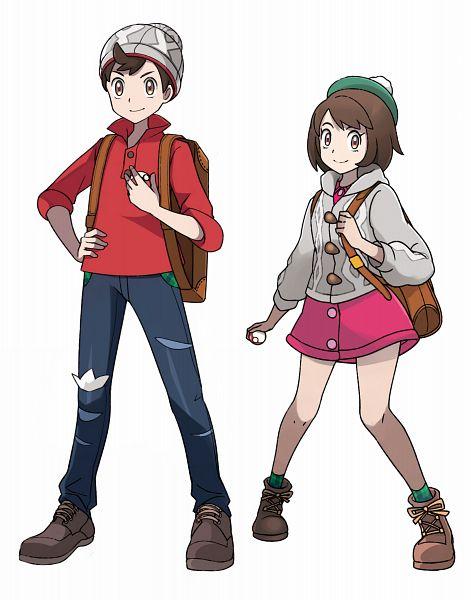 Tags: Anime, Oishii Garriel, Pokémon Sword & Shield, Pokémon, Male Protagonist (Pokémon Sword & Shield), Female Protagonist (Pokémon Sword & Shield)