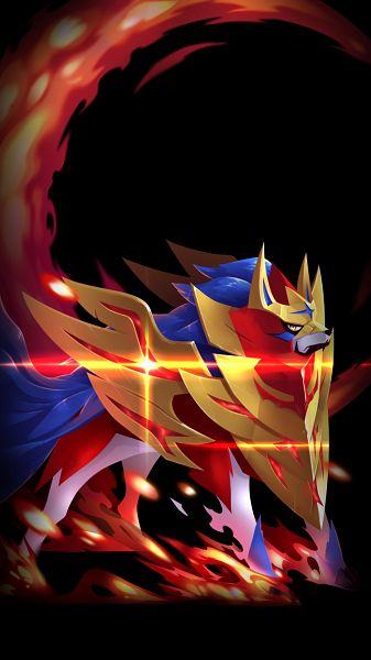Tags: Anime, Pixiv Id 4470767, Pokémon Sword & Shield, Pokémon, Zamazenta, Mobile Wallpaper