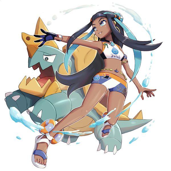Tags: Anime, Gonzarez, Pokémon Sword & Shield, Pokémon, Rurina, Drednaw