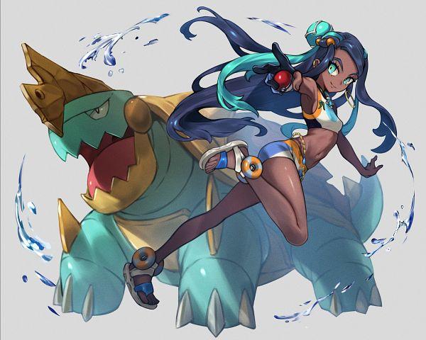 Tags: Anime, Pixiv Id 1224506, Pokémon Sword & Shield, Pokémon, Rurina, Drednaw