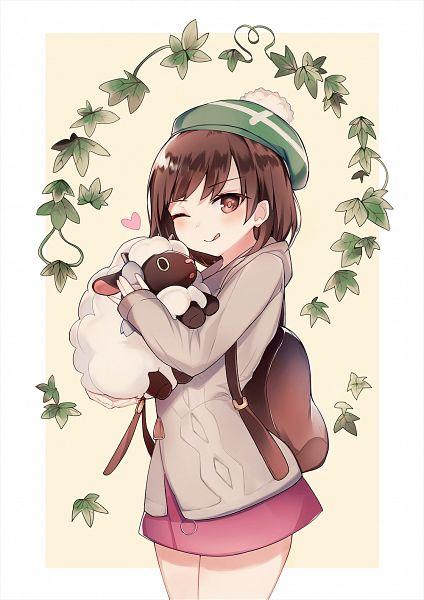 Tags: Anime, Pixiv Id 7331947, Pokémon Sword & Shield, Pokémon, Wooloo, Female Protagonist (Pokémon Sword & Shield)