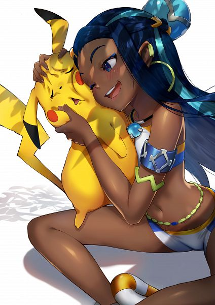 Tags: Anime, Pixiv Id 1089252, Pokémon Red & Green, Detective Pikachu, Pokémon Sword & Shield, Pokémon, Rurina, Pikachu, Detective Pikachu (Parody)