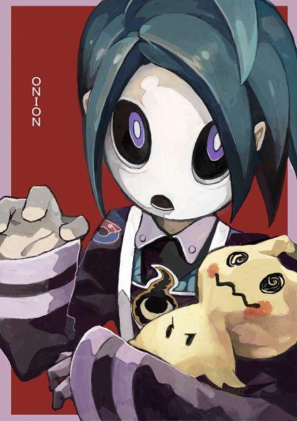 Tags: Anime, Pixiv Id 12530672, Pokémon Sword & Shield, Pokémon Ultra Sun & Moon, Pokémon Sun & Moon, Pokémon, Mimikyu, Onion (Pokémon)