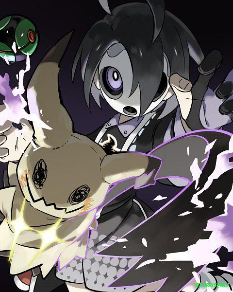 Tags: Anime, Pixiv Id 20397444, Pokémon Sun & Moon, Pokémon Sword & Shield, Pokémon Ultra Sun & Moon, Pokémon, Onion (Pokémon), Mimikyu