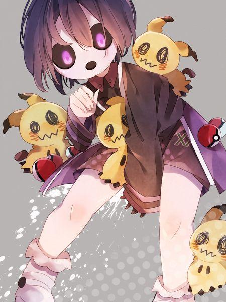 Tags: Anime, Pixiv Id 38288132, Pokémon Sun & Moon, Pokémon Sword & Shield, Pokémon Ultra Sun & Moon, Pokémon, Mimikyu, Onion (Pokémon)