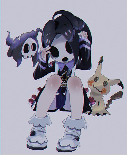 Tags: Anime, Pixiv Id 17686315, Pokémon Ruby & Sapphire, Pokémon Ultra Sun & Moon, Pokémon Sun & Moon, Pokémon Sword & Shield, Pokémon, Onion (Pokémon), Mimikyu, Duskull