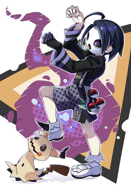 Tags: Anime, Kanata (Pixiv1305983), Pokémon Ultra Sun & Moon, Pokémon Sun & Moon, Pokémon Sword & Shield, Pokémon, Mimikyu, Onion (Pokémon)
