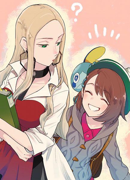 Tags: Anime, Kyouno, Pokémon Sword & Shield, Pokémon, Female Protagonist (Pokémon Sword & Shield), Olive (Pokémon), Sobble
