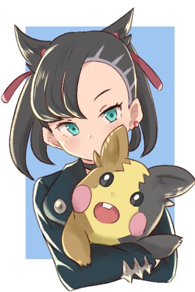 Tags: Anime, Pixiv Id 1663219, Pokémon Sword & Shield, Pokémon, Morpeko, Marie (Pokémon), 800x1200 Wallpaper, 2:3 Ratio, Wallpaper