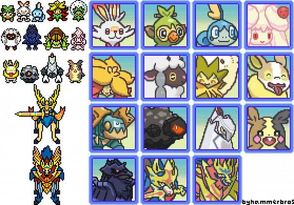 Tags: Anime, Pixiv Id 9927835, Pokémon Sword & Shield, Pokémon, Zacian, Gossifleur, Duraludon, Drednaw, Sobble, Alcremie, Corviknight, Grookey, Yamper