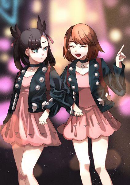 Tags: Anime, Pixiv Id 599566, Pokémon Sword & Shield, Pokémon, Marie (Pokémon), Female Protagonist (Pokémon Sword & Shield), Marie (Pokémon) (Cosplay)