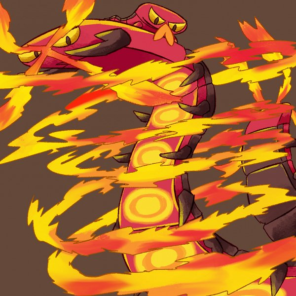 Tags: Anime, Pixiv Id 49899445, Pokémon Sword & Shield, Pokémon, Centiskorch, Sizzlipede, Centipede, Fanart, Fanart From Pixiv, Pixiv