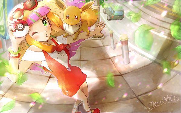 Tags: Anime, Pixiv Id 21216479, Pokémon (Anime), Pokémon The Movie: Minna no Monogatari, Pokémon, Eevee, Risa (Pokémon), Pokémon The Movie: The Power Of Us