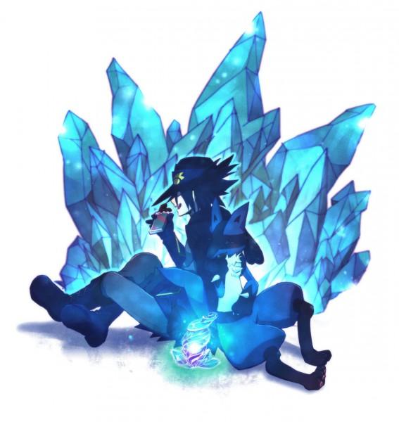 Tags: Anime, Tore (ksg666xx), Pokémon (Anime), Pokémon the Movie: Lucario and the Mystery of Mew, Pokémon, Arlon (Pokémon), Lucario, Chocolate Bar